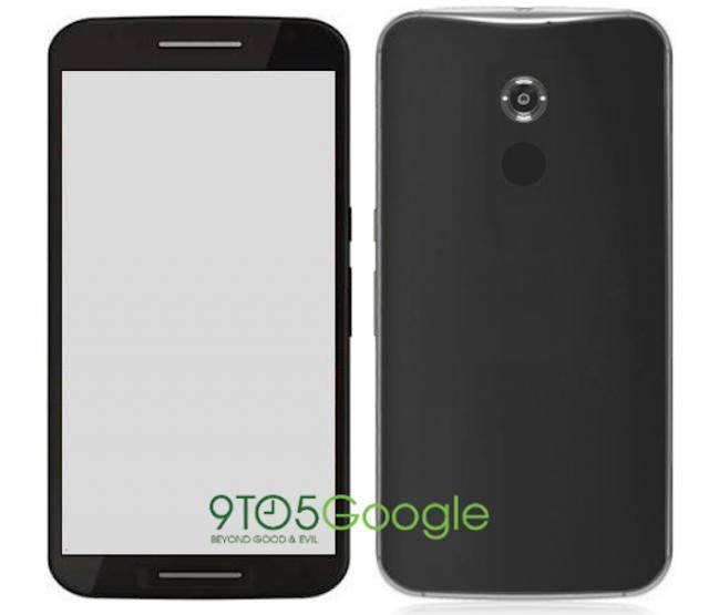 Nexus 6 X Shamu leak