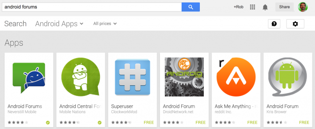Android Forums on the Google Play Store