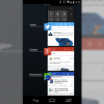 recent apps