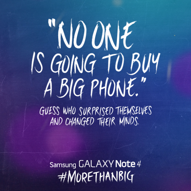 samsung iphone big phone