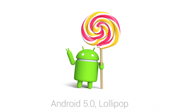 Android 5.0 Lollipop Bugdroid