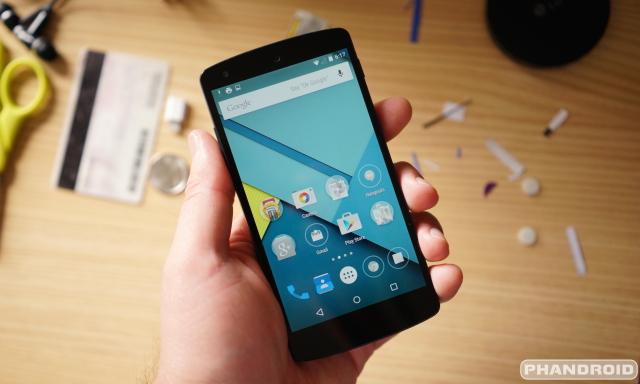 Android 5.0 Lollipop DSC07203