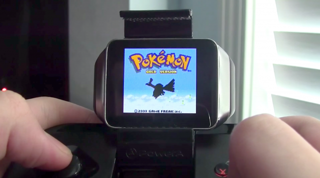Android Wear Game Boy Color emulator MOGA controller