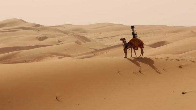 Google Street View Liwa Desert