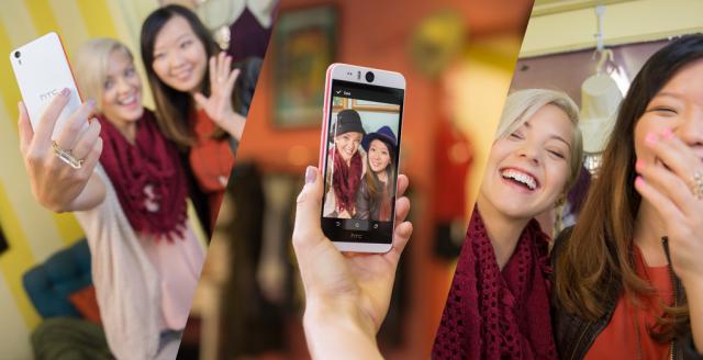 HTC Desire EYE selfies