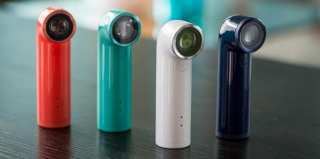 HTC RE Camera colors