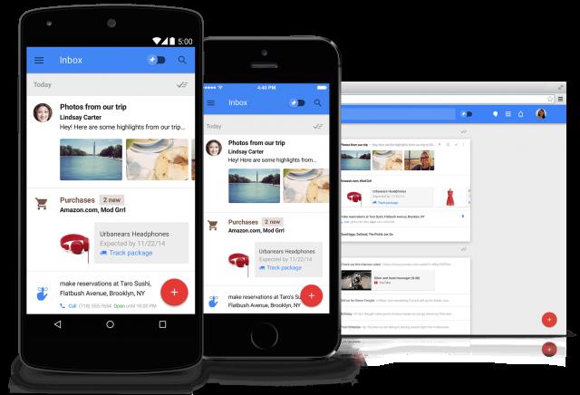 Inbox by Gmail promo hero