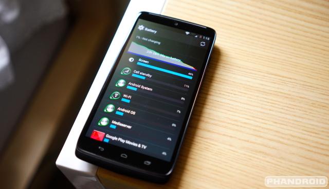 Motorola DROID Turbo Battery Life DSC07228