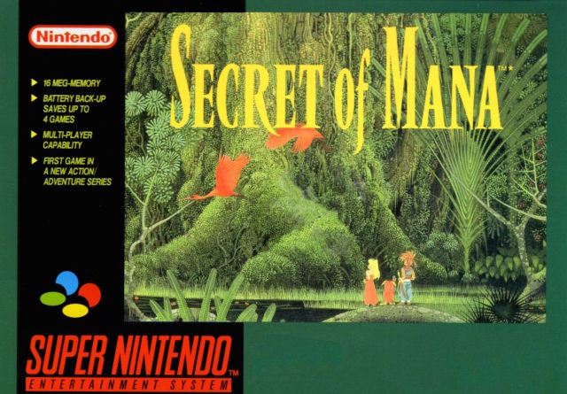 Secret of Mana cover front
