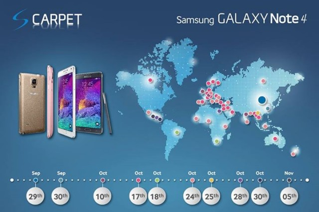 note 4 release map