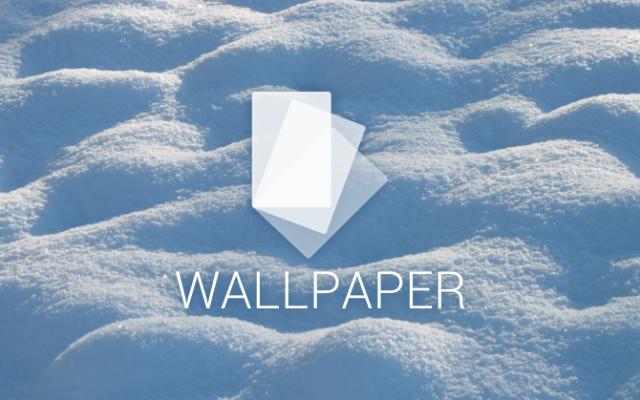 snow wallpaper