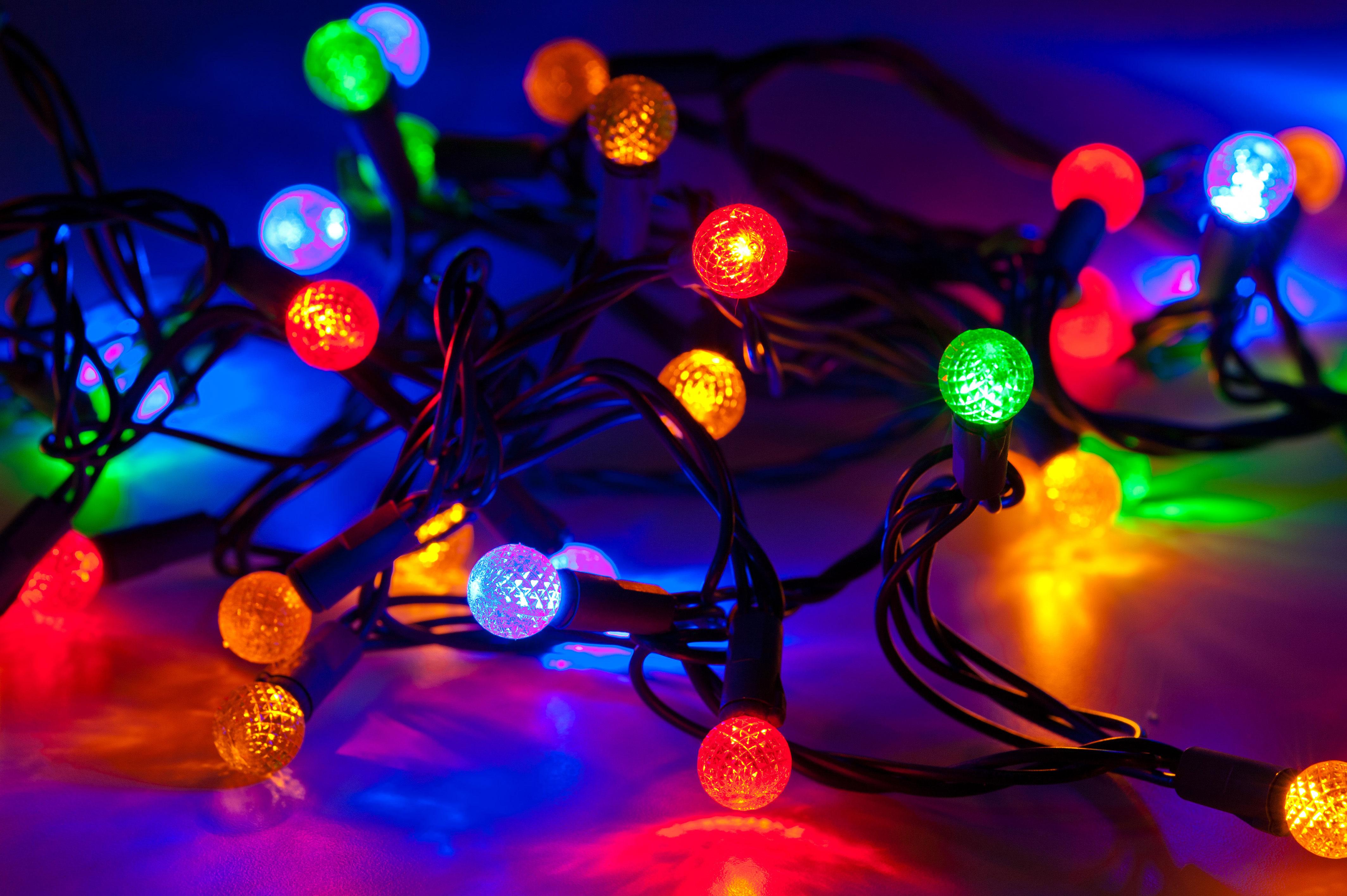 Fireworks Christmas Lights