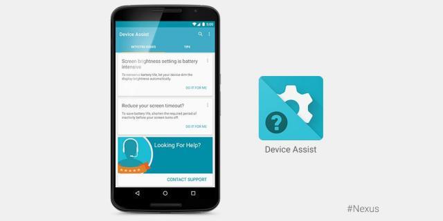 Google Nexus Device Assist