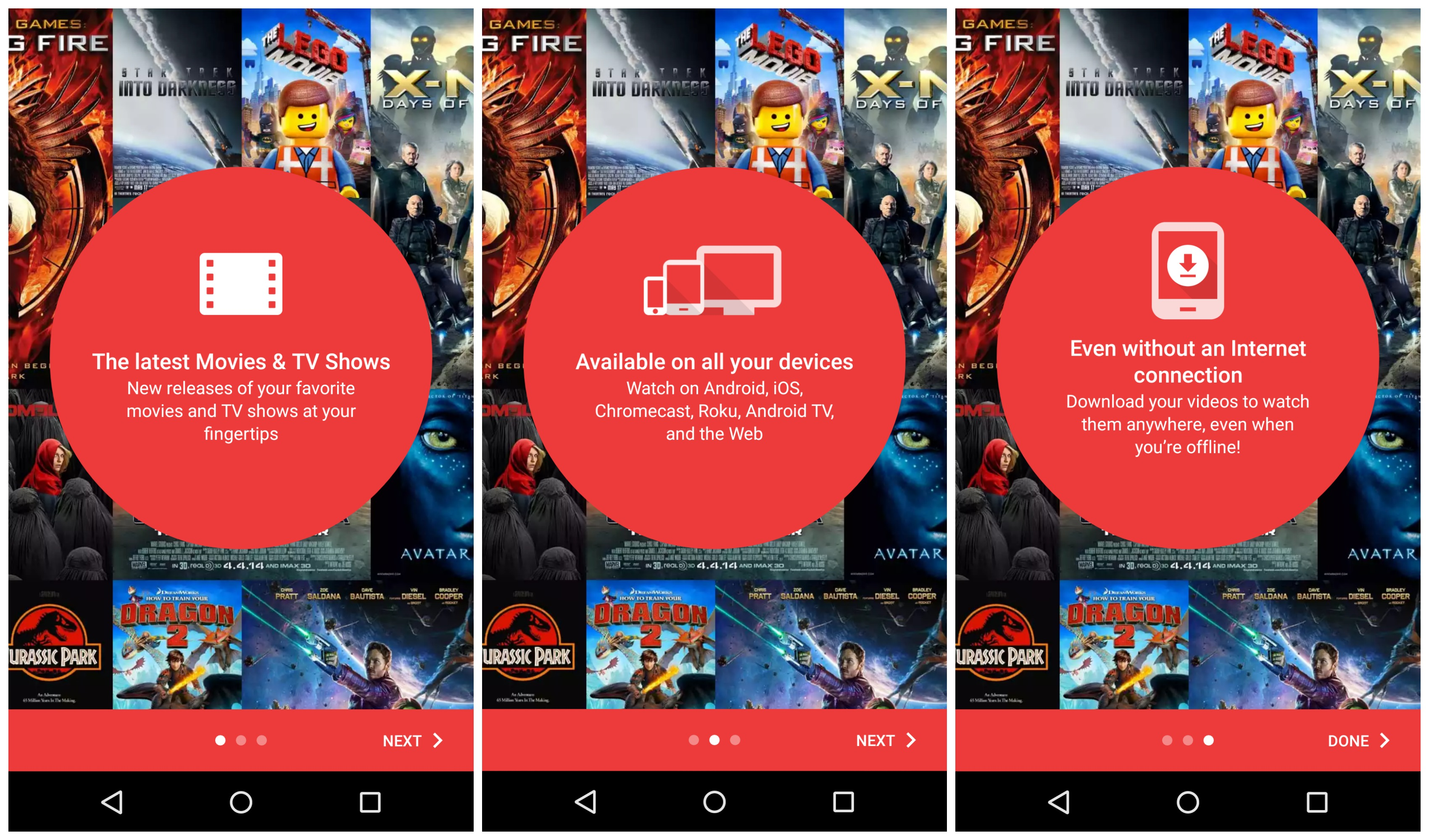 google tv and movies app