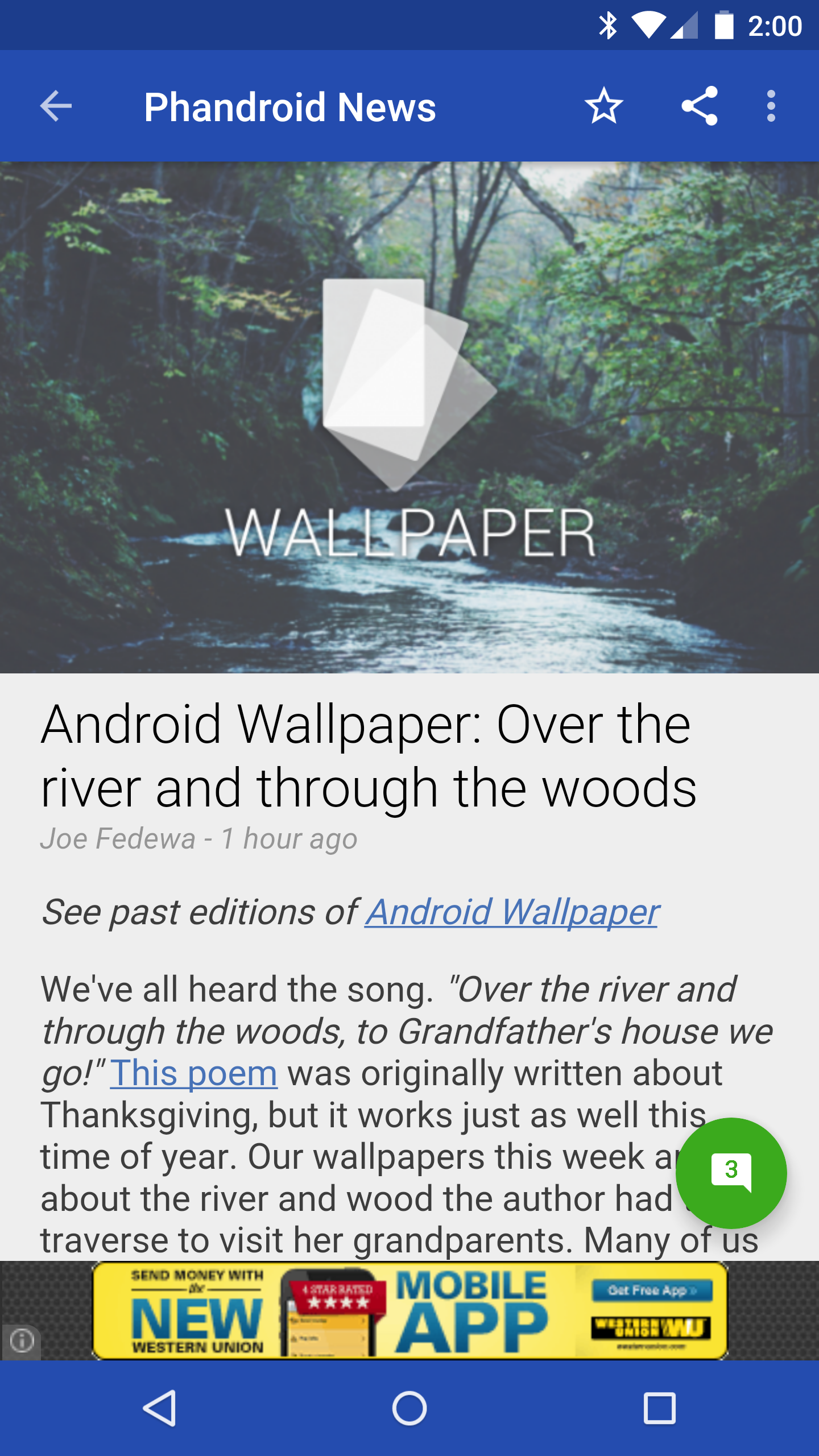 Phandroid's news app gets a visual makeover, goes Material Design