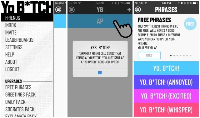Yo Btch YB app