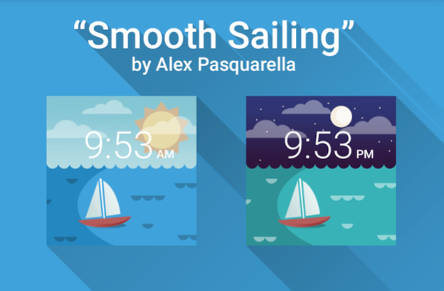 smooth sailing watch faces