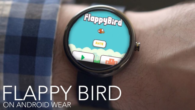 Flappy Bird for Android Wear