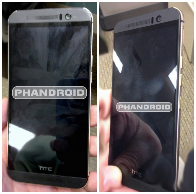 HTC One M9 Hima front side leak