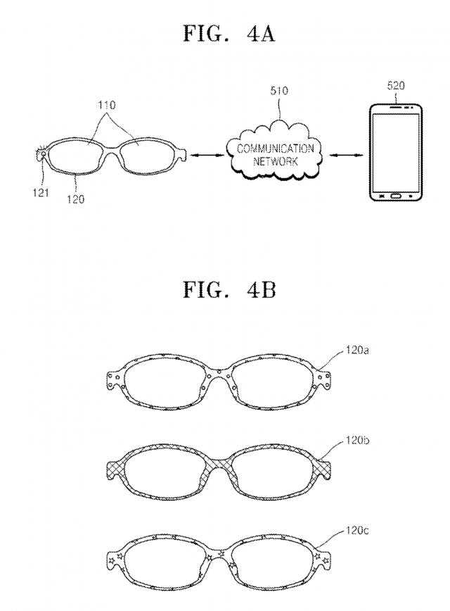 samsung glasses patent 1