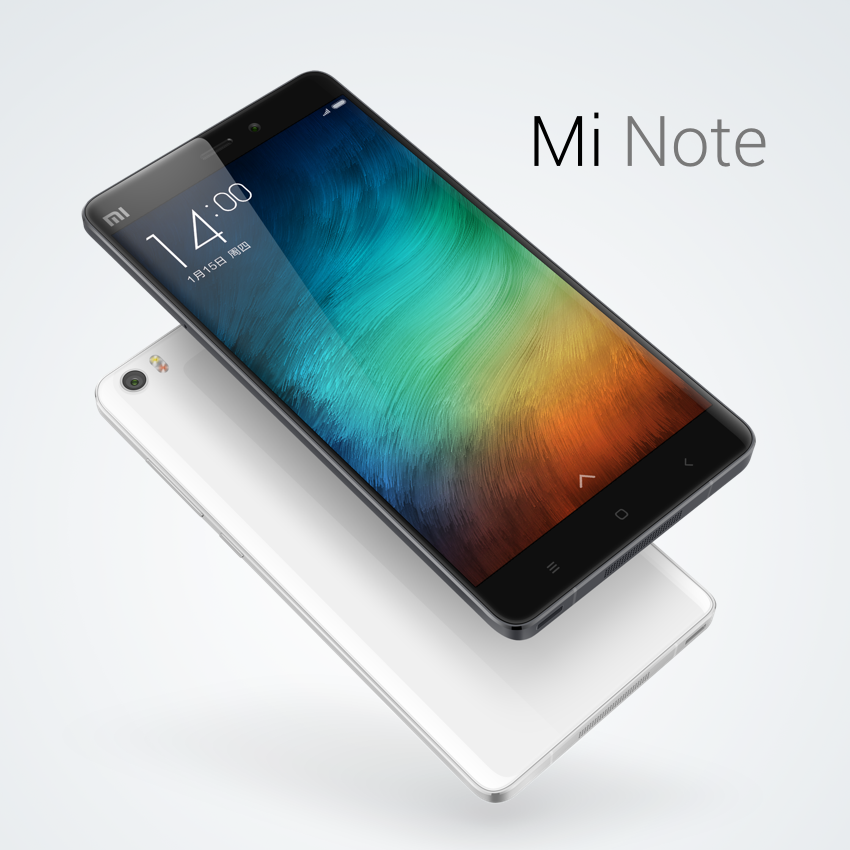 Xiaomi Mi Note and Mi Note Pro officially announced