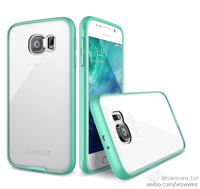 more photos 71463 e2ef6 Samsung Galaxy S6 shown inside clear cases