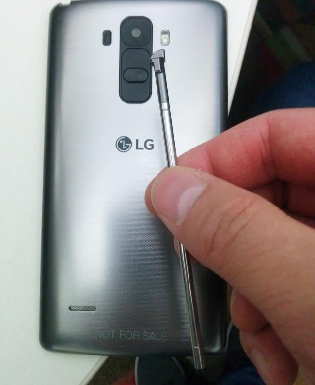 LG G4 Note stylus leak
