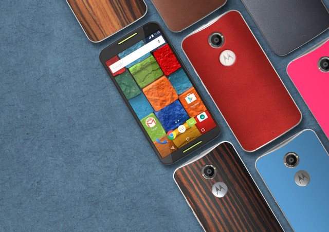 Red Leather Moto X 2nd Gen featured