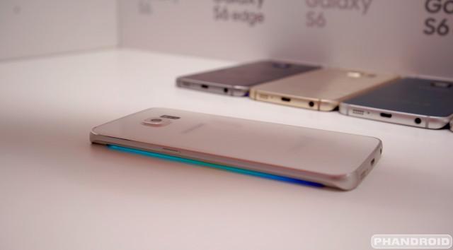 Samsung Galaxy S6 Edge display DSC08581