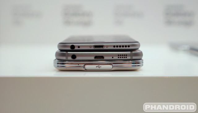 Samsung Galaxy S6 S5 iPhone 6 DSC08559