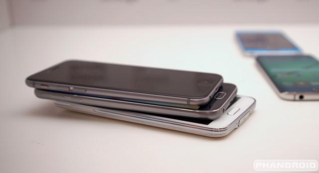 Samsung Galaxy S6 S5 iPhone 6 DSC08563