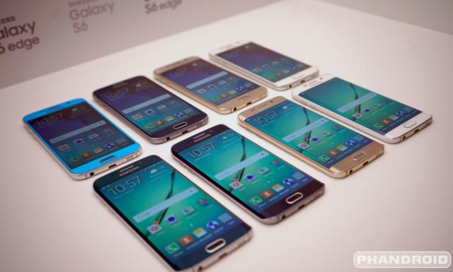Samsung Galaxy S6 all colors DSC08554