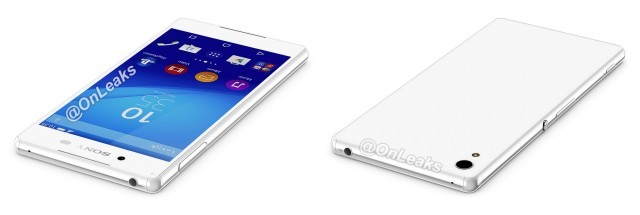 Sony Xperia Z4 front back top
