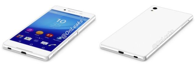 Sony Xperia Z4 leak front back 1