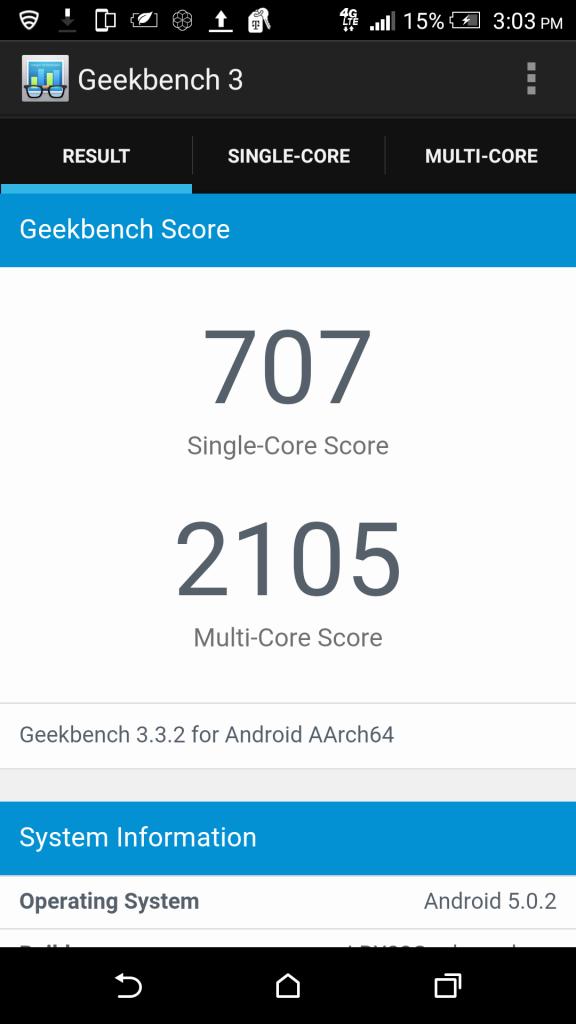 one-m9-geekbench