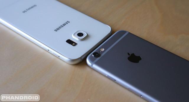 Galaxy S6 vs iPhone 6 DSC09427