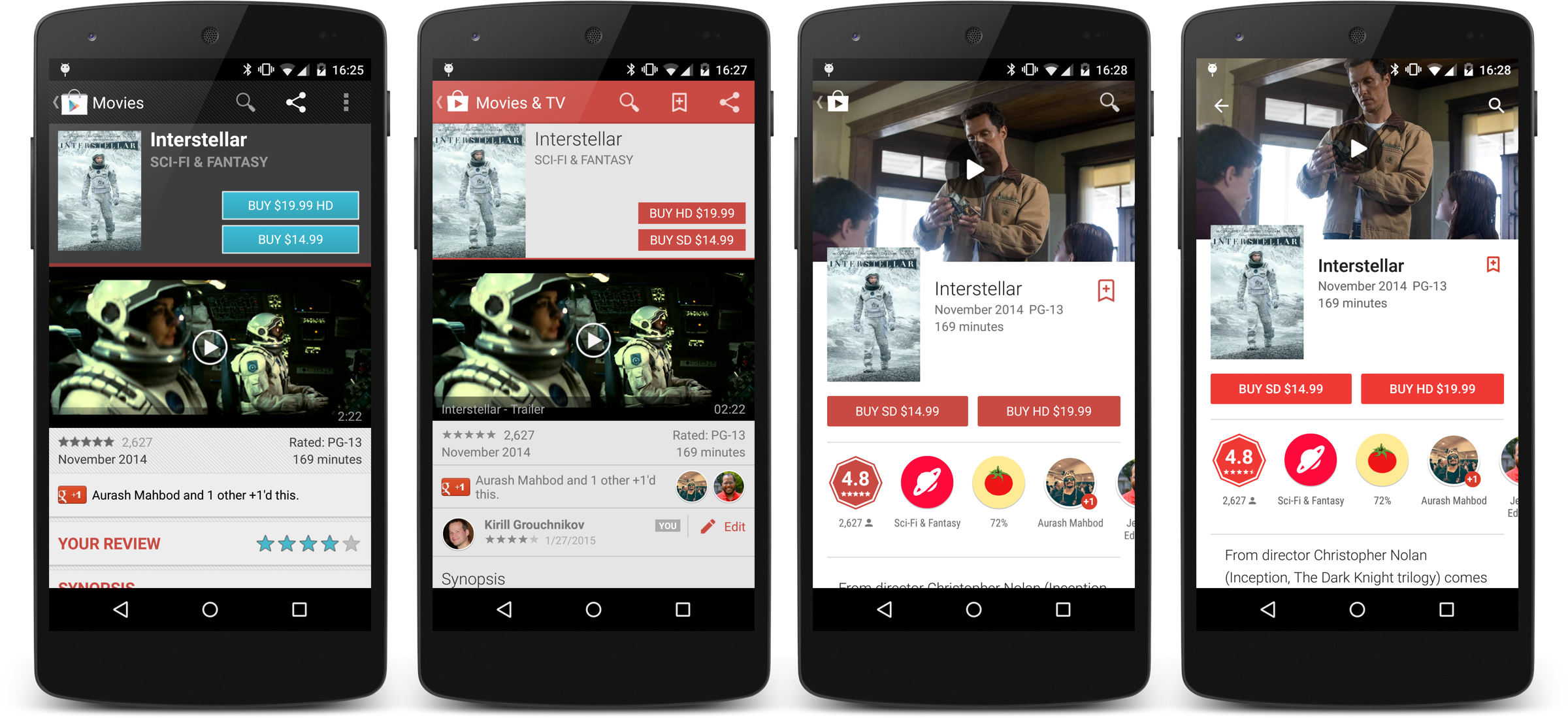 Google Play Store 5.4 brings more immersive listings for ...