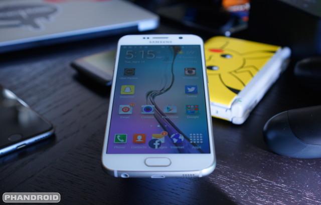 Samsung Galaxy S6 DSC09341