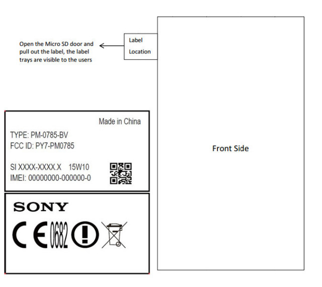 Sony Xperia Z4 PM-0785 FCC