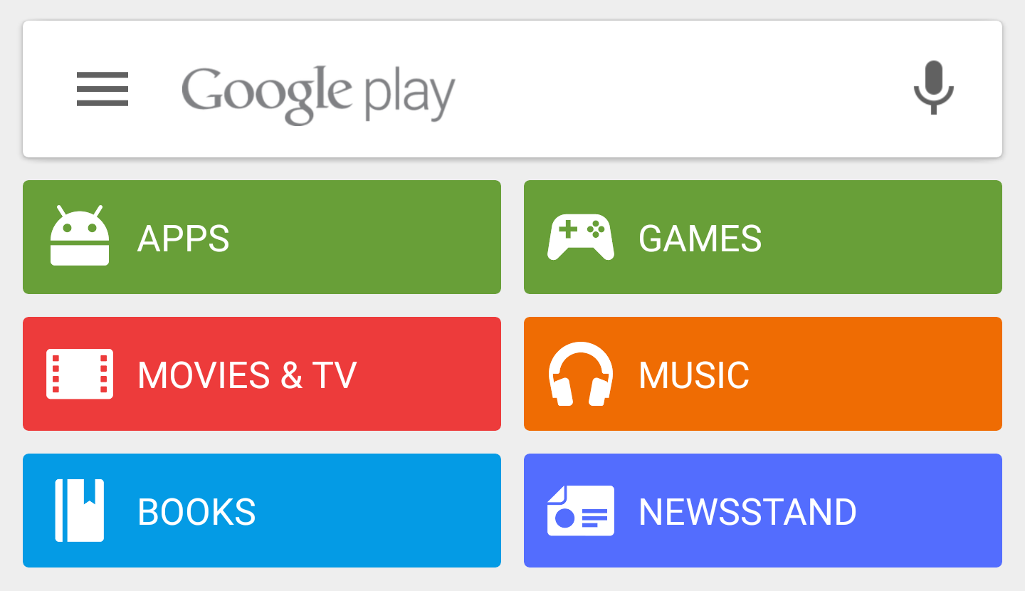 Download: Google Play Store 5 5 with Material animations