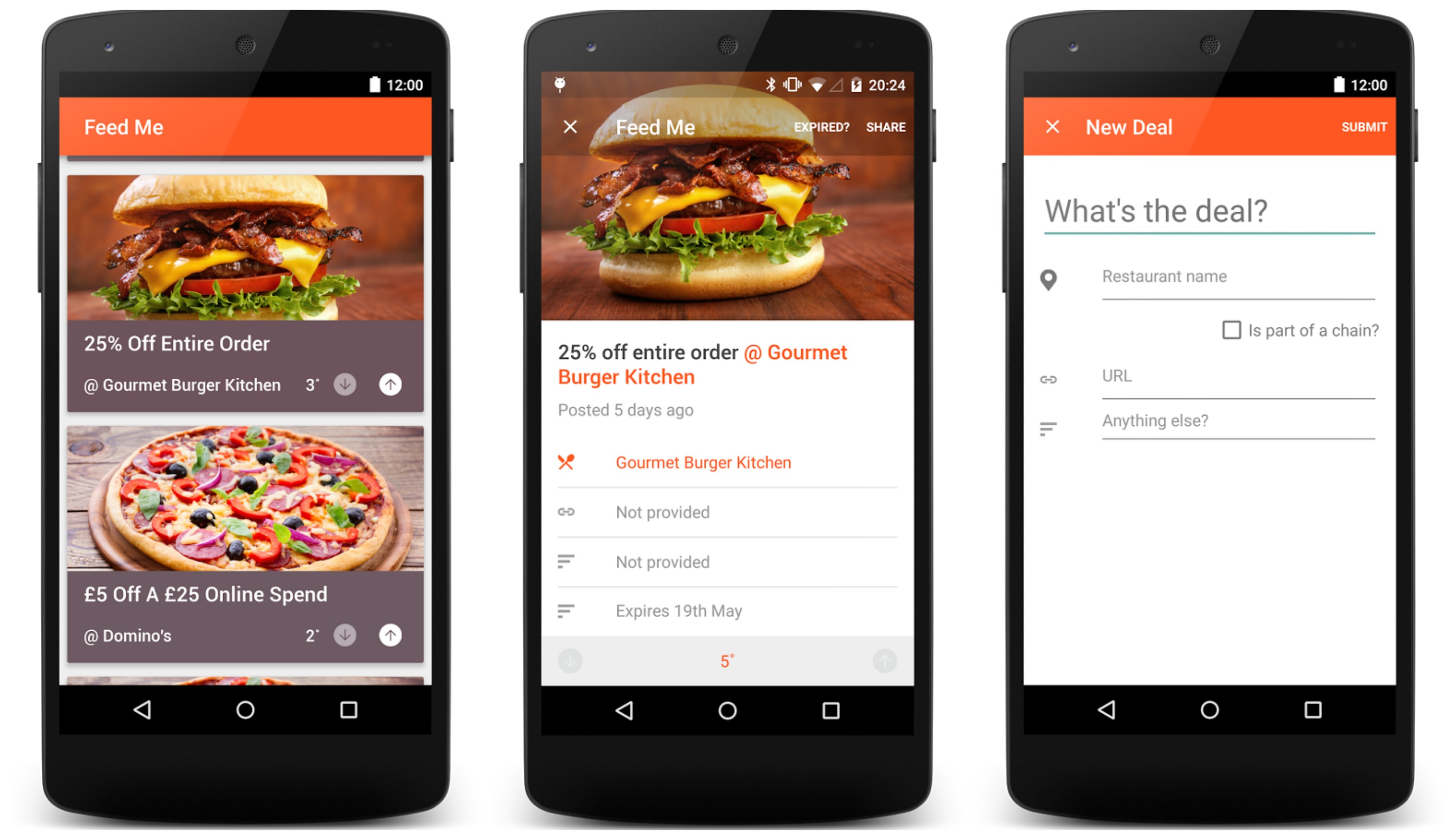 Feedme Lets You Find The Hottest Restaurant Deals In Your