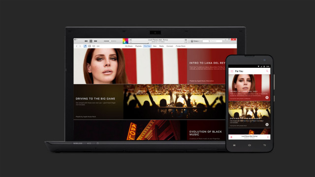 Apple Music Windows and Android