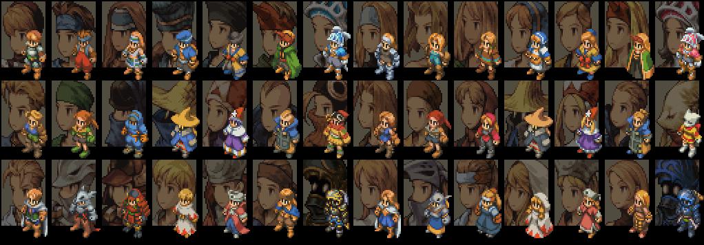 Image result for Final Fantasy Tactics jobs