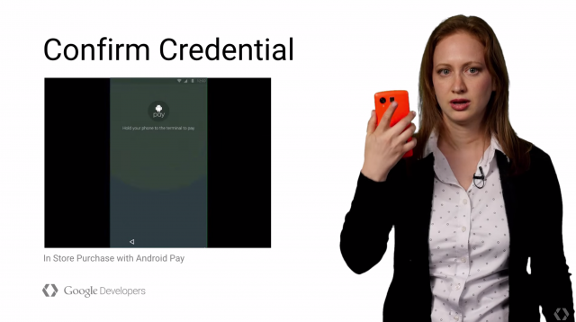 Google Developers Nexus 5 fingerprint reader