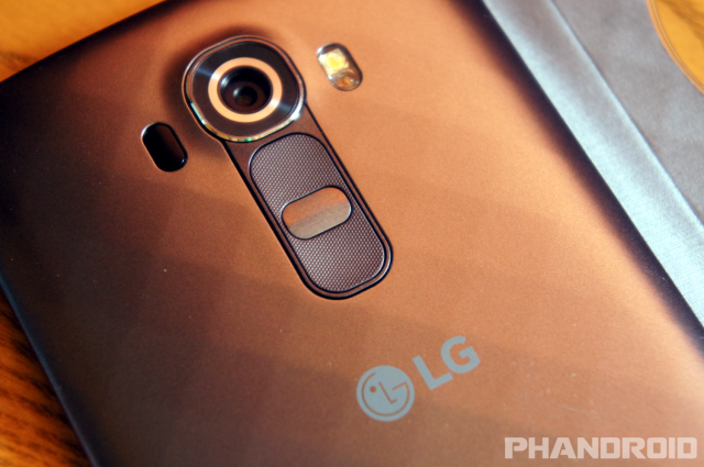 LG G4 back buttons