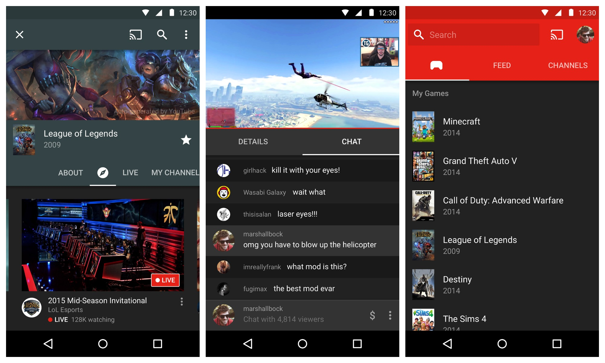 Google introduces YouTube Gaming, Twitch doesn't seem too