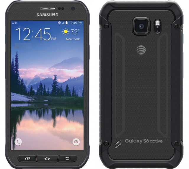 samsung galaxy s6 active black