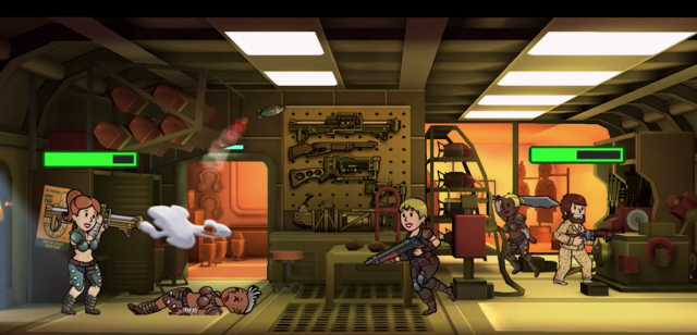 Fallout Shelter attack