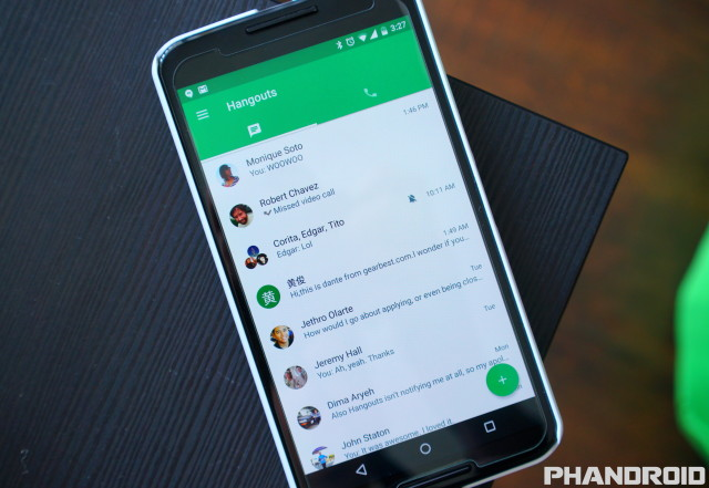 Hangouts 4.0 Android Phandroid leak DSC09902