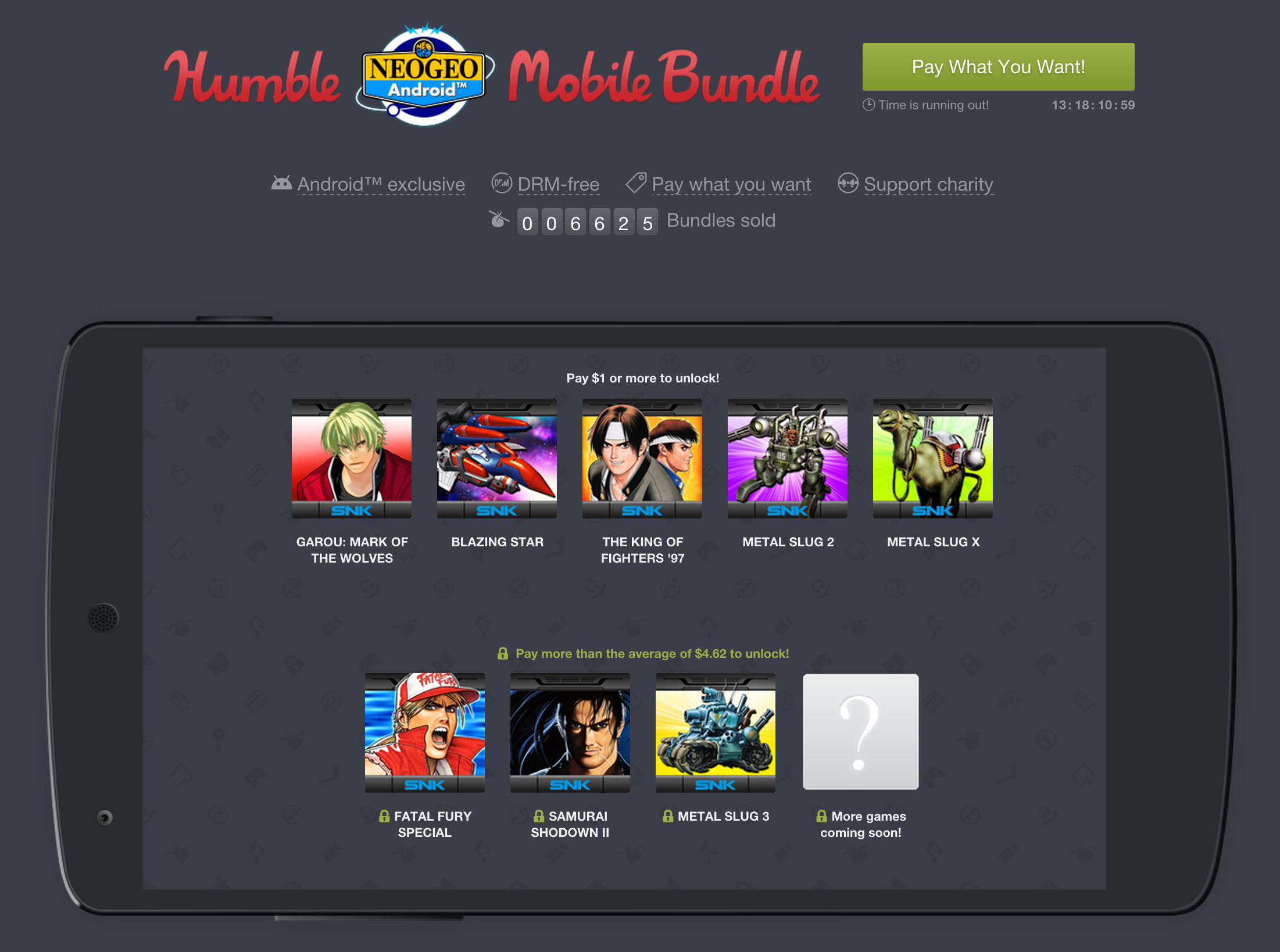 Humble Bundle discontinues Android-focused Mobile Bundles